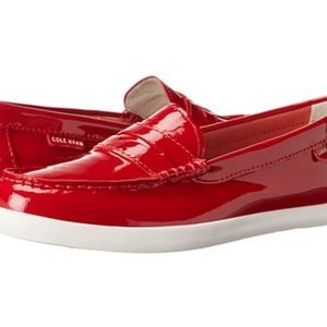 Cole Haan Pinch Weekender Patent Loafer, Red Shoe